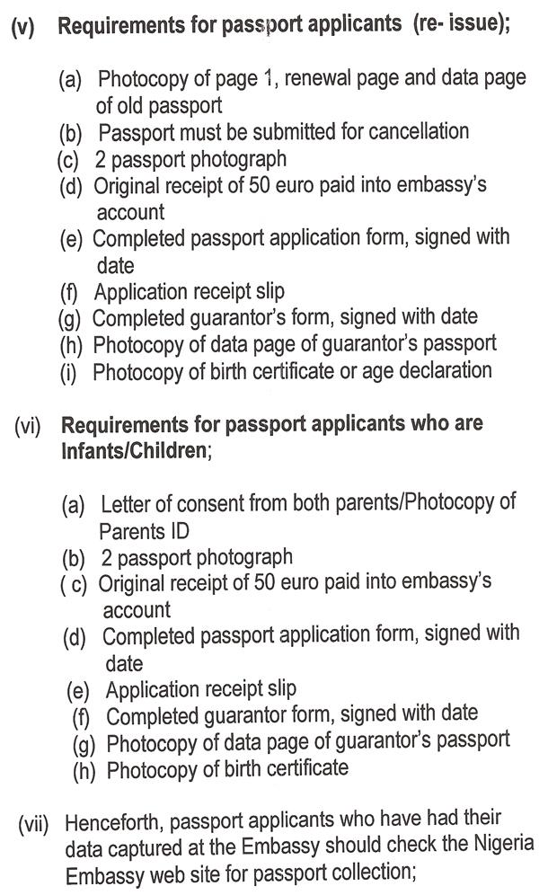 APPLICATION FOR E-PASSPORT